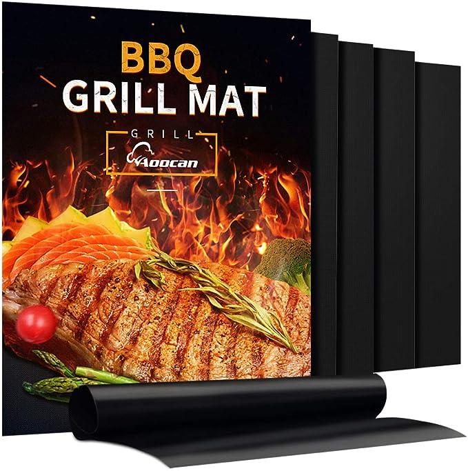 Aoocan Grill Mat - Set of 5 – Heavy Duty BBQ Grill Mats