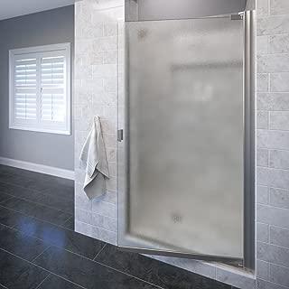 Basco ARMN00A3366OBBN Armon Semi-frameless pivot shower door 33.25