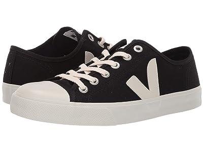 VEJA Wata (Black/White Canvas) Athletic Shoes