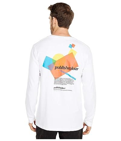 Publish Myers Long Sleeve T-Shirt (White) Men