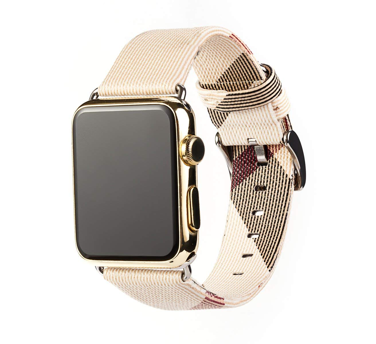Correa para Apple Watch Series 4 40mm Cuero, Myada Correa Apple Watch Series 3 38mm Piel,
