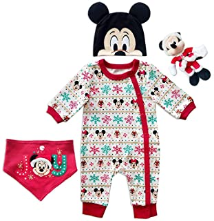 Disney Mickey Mouse Gift Set for Baby, Size 0-3 Months
