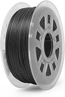 Gizmo Dorks 1.75mm ABS Filament 1kg / 2.2lb for 3D Printers, Conductive Black