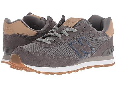 New Balance Kids KL515v1Y (Little Kid/Big Kid) (Castlerock/Hemp) Boys Shoes