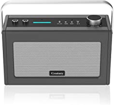 Internet Radio, Smart WiFi Speaker with Alexa, Bluetooth, Smart Home Control, Multi-Room, News and Sport Updates (Charcoal)