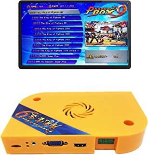 TAPDRA Arcade Jamma Board Pandora's Box 9 with 1500 Multi Game Arcade Machine Accessory DIY Kit Part Jamma PCB Classic Vintage Video Game Board, Support LCD and VGA
