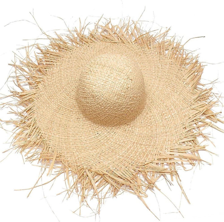 CFHJN-hat Home Lafayette-Material für Frühling und Sommer Wird aus Einem Strandhut mit Sonnenschutzhüten hergestellt