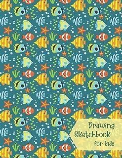 Drawing Sketchbook for kids: Sketch Book 8x5| Sketch Pad Kids|Artistic Sketchbook|Drawing Pads for Kids 9-12| Kids Drawing...