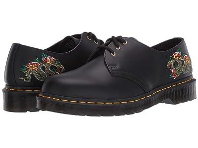 Dr. Martens 1461 Snake Embroidered (Black) Shoes
