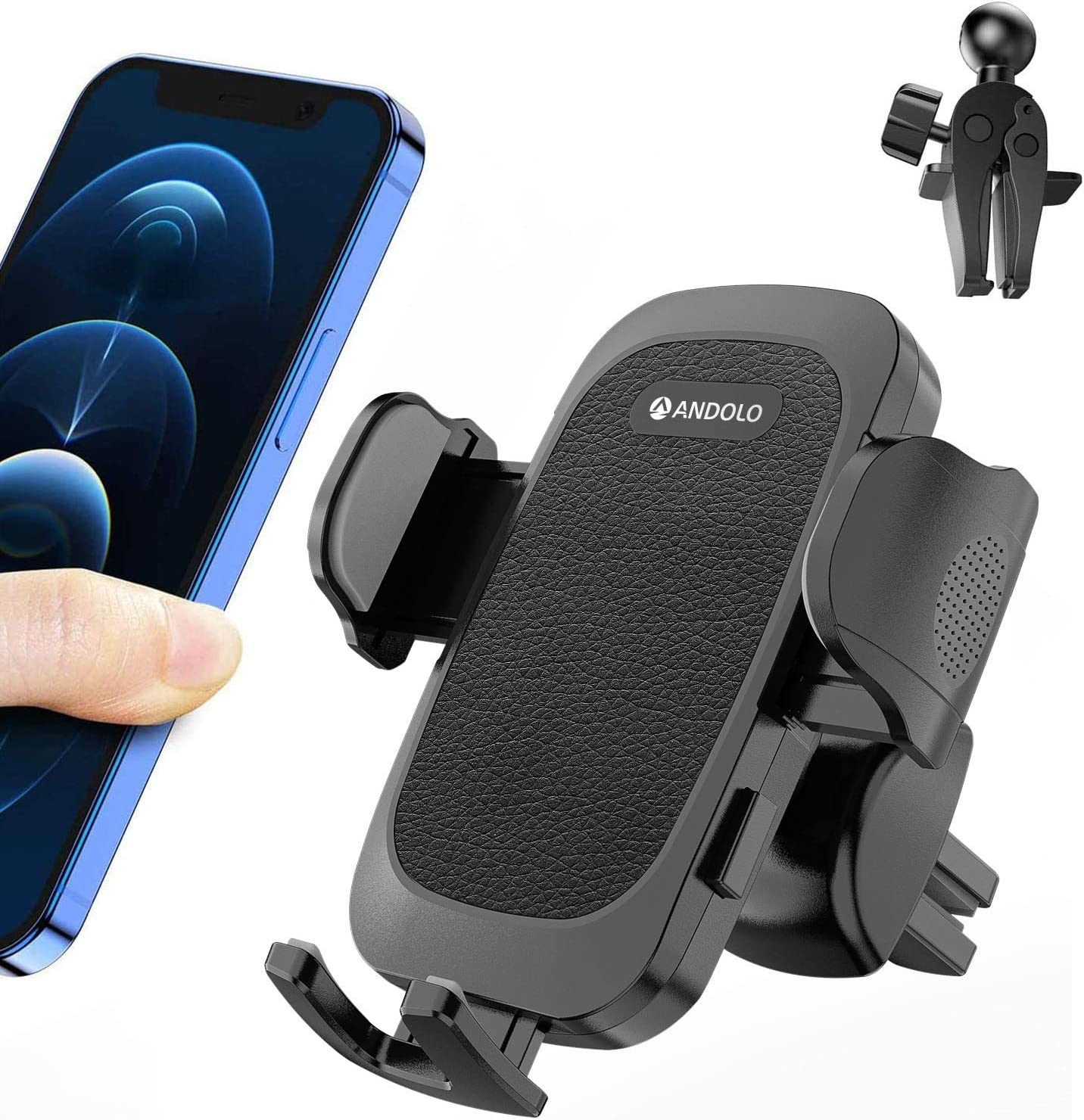 Omaha Mall ANDOLO Car Phone Holder In a popularity Air with Ven 2 Mount Adjustab