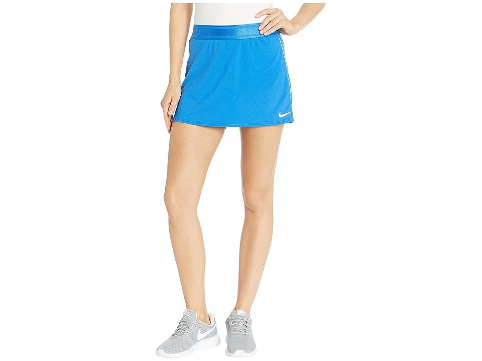 Nike Court Dry Skirt Stretch (Signal Blue/White/White/Signal Blue) Women