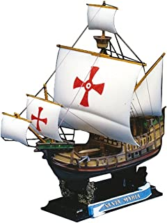 Aoshima Santa Maria 1492 Historical Sailing Ship Model Kit