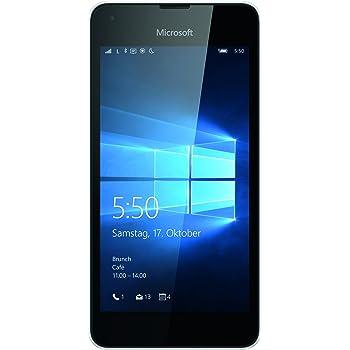 Microsoft Lumia 550 Smartphone (4,7 Zoll (11,9 cm) Touch-Display, 8 GB Speicher, Windows 10) schwarz