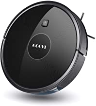 Robot Vacuum, GOOVI 1600PA Robotic Vacuum Cleaner with Self-Charging, 360° Smart Sensor..