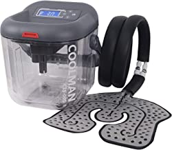 COOLMAN Cold Therapy System Cryotherapy Machine Portable Continuous Ice Pack Flexible Universal Pad for Knee, Ankle, Cervi...