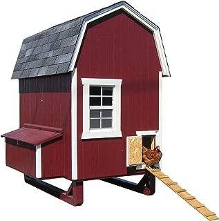 Little Cottage Company Gambrel Barn Coop 4'x6' DIY Chicken Coop Kit