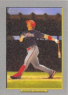 2006 Turkey Red #342 Aaron Rowand Phillies
