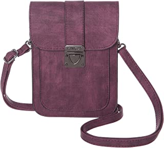MINICAT Crossbody Cell Phone Purse with Card Slots Small Travel Crossbody Purse Bags for Women