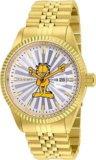 """Invicta""""Character Collection"""" - Reloj casual de cuarzo y acero inoxidable para hombre, color: tono dorado (modelo: 24873)"""