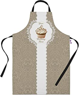 Personalized Baking Aprons for Women Men - Cooking Chef Apron - Ornate Coffee Cupcake