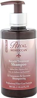 Royal Moroccan Formula - Keratin Shampoo (300 ml) - Base of Moroccan Argan oil, For color – Treated Hair