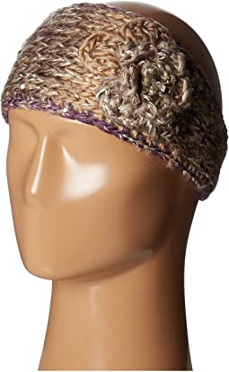 Knit Headband w/ Flower