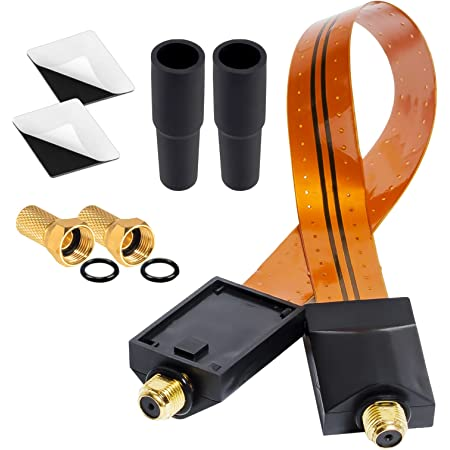 Hb Digital Sat Fensterdurchführung Für Sat Kabel Gold Elektronik