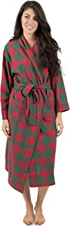 Leveret Womens Flannel Robe Christmas Robe (Size X-Small-XX-Large)
