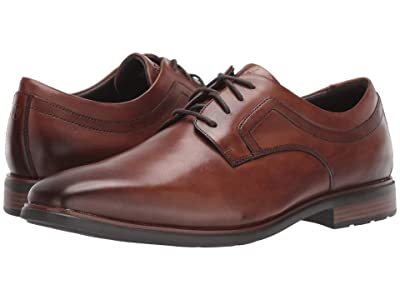 Rockport DresSports Business 2 Plain Toe (Cognac Antique) Men