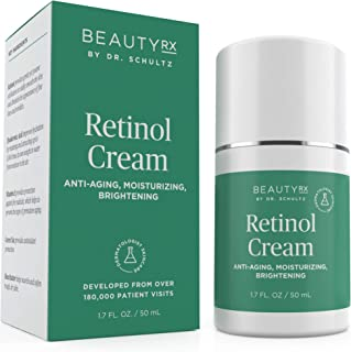 Sponsored Ad - BeautyRx by Dr. Schultz Retinol Cream Moisturizer 2.5% for Face & Eyes for Wrinkle, Fine Lines & Dark Spots...