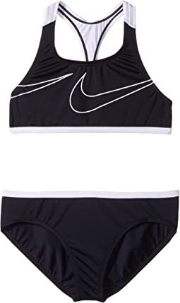 Nike Kids - Macro Swoosh Racerback Sport Top Brief Set (Big Kids)