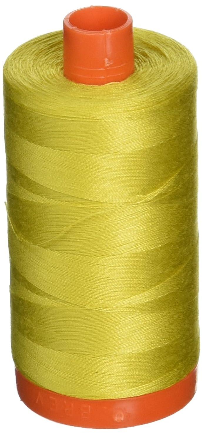 Aurifil Mako Cotton Thread Solid 50wt 1422yds Gold Yellow