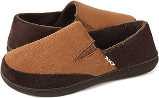 شباشب رجالية من زيجززاغر من فازي هاوس مع إسفنج قادر على الاحتفاظ بالشكل، أحذية داخلية/خارجية