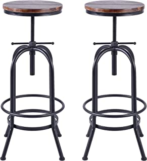 Marvelous Best Wood And Iron Bar Stools Of 2019 Top Rated Reviewed Onthecornerstone Fun Painted Chair Ideas Images Onthecornerstoneorg