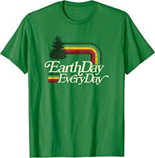 Cute Earth Day Everyday Retro Vintage Top T-Shirt