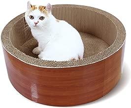Best round cat scratcher/bed Reviews