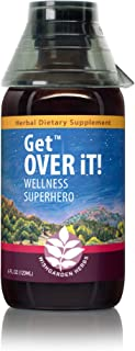 WishGarden Herbs - Get Over It!, Herbal Immune Booster Tincture, Supports Your Body's Natural Immune Response, Maintain a ...