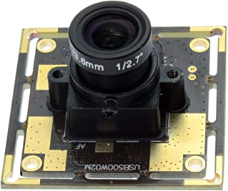 USB Camera Module with 3.6mm Lens 5MP USB Webcamera High Definition 2592X1944 CMOS OV5640 Image Sensor USB with Camera, USB Webcam for Monitoring of ATM Machine, Medical Machine, Kiosk, PC, House