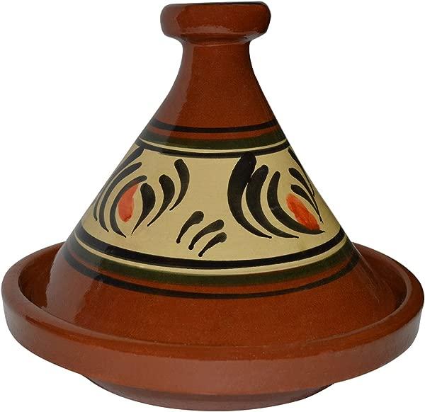 摩洛哥无铅烹饪泰吉 100 手工粘土炊具