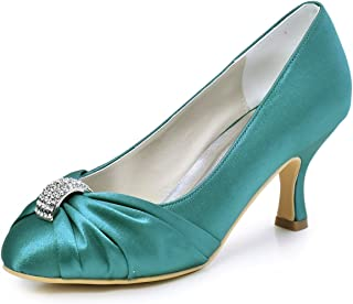 8c7759e308b Amazon.co.uk: Turquoise - Court Shoes / Women's Shoes: Shoes & Bags