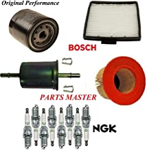 Tune Up Kit Air Cabin Oil Fuel Filters Spark Plug FIT FORD F-150 V8 4.6L 1999-2003