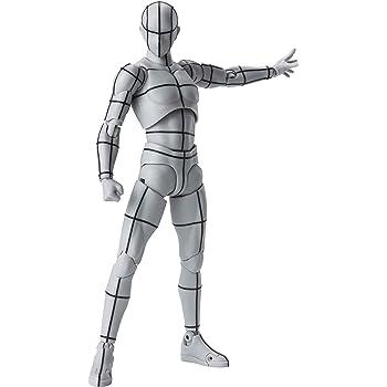 BANDAI SPIRITS S.H.フィギュアーツ ボディくん -ワイヤーフレーム-(Gray Color Ver.) 約150mm PVC&ABS製 塗装済み可動フィギュア