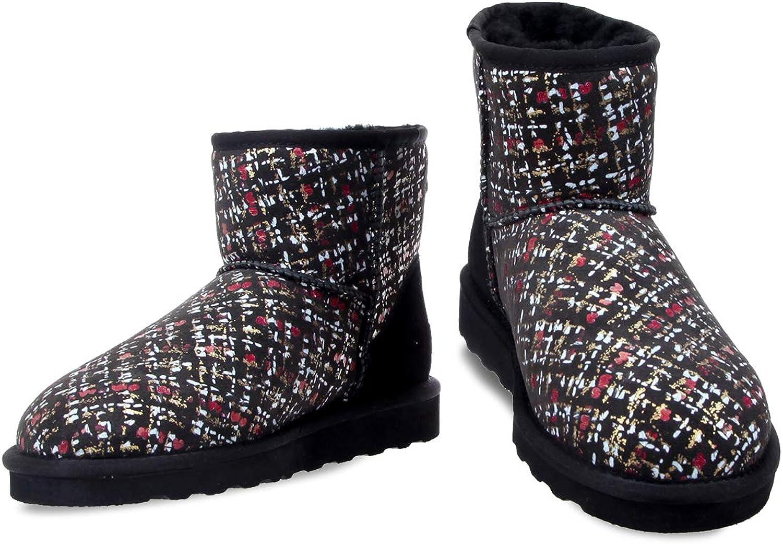 Fawziya Printed Snow Boots for Women Sheepskin shoes