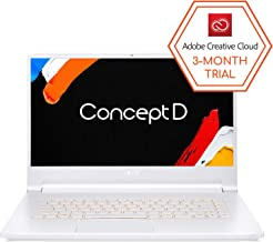 "ConceptD 7 CN715-71-73A9 Creator Laptop, Intel i7-9750H, NVIDIA GeForce RTX 2080, RTX Studio, 15.6"" 4K Ultra HD IPS, 100% ..."