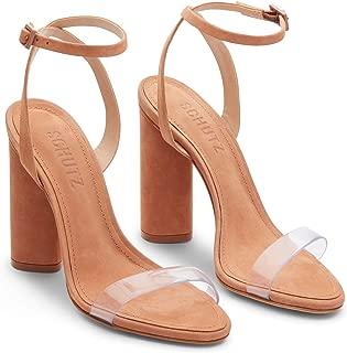 Women's Geisy PVC Block Heel Sandals
