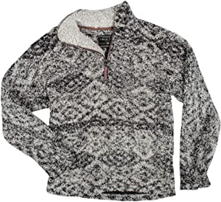 Tribal Frosty Tipped 1/4 Zip Pullover