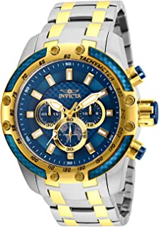 Men's Speedway Quartz Watch with Stainless Steel Strap, Two Tone, 26 (Model: 25947)