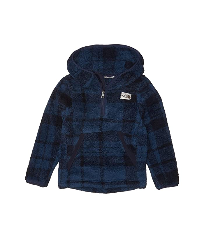 Campshire Hoodie (Little Kids/Big Kids) TNF Navy Heritage 2 Plaid Print