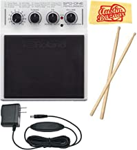 Roland SPD::ONE PERCUSSION Percussion Pad Bundle with Power Supply, Drum Sticks, and Austin Bazaar Polishing Cloth
