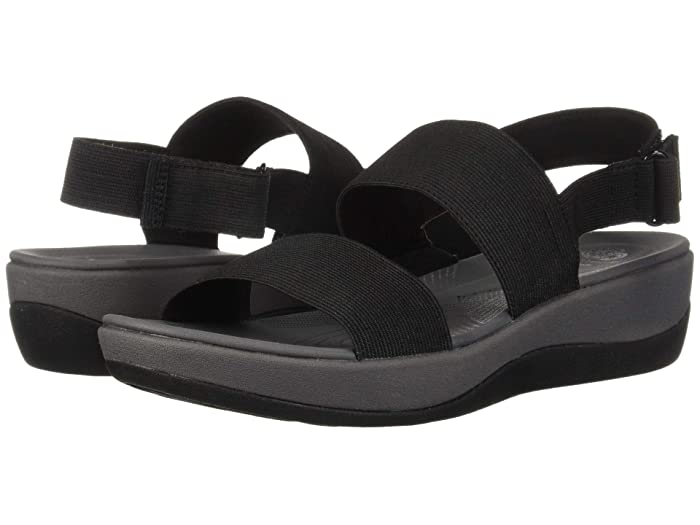 Clarks  Arla Jacory (Black Solid) Womens Sandals